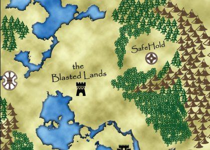 Fantasy Map Dungeon Journal