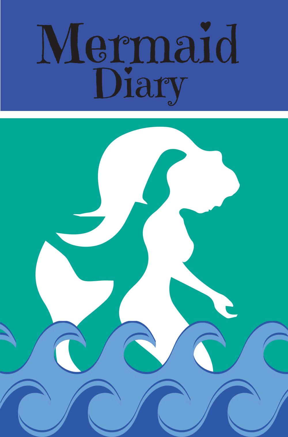 Mermaid Diary: Journal, Sketchbook or Notebook