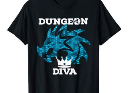 Blue Dragon Dungeon Diva Shirt