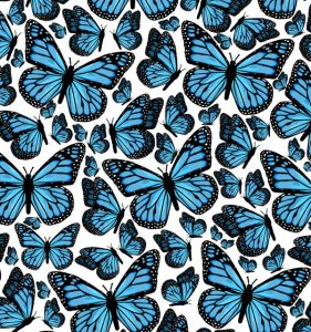 Butterfly Journal: Blue Butterfly Inspirational Journal: Lined Journal, 200 Pages, 6 x 9