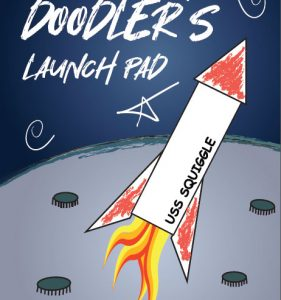 Doodler's Launch Pad: Creative Activity Sketch Notebook with Starter Squiggles, Scribbles and Doodles